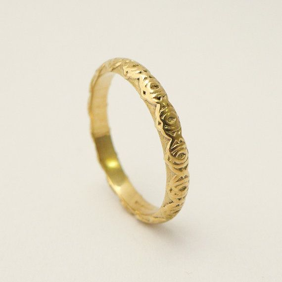 14 karat gold simple wedding ring for women gold by