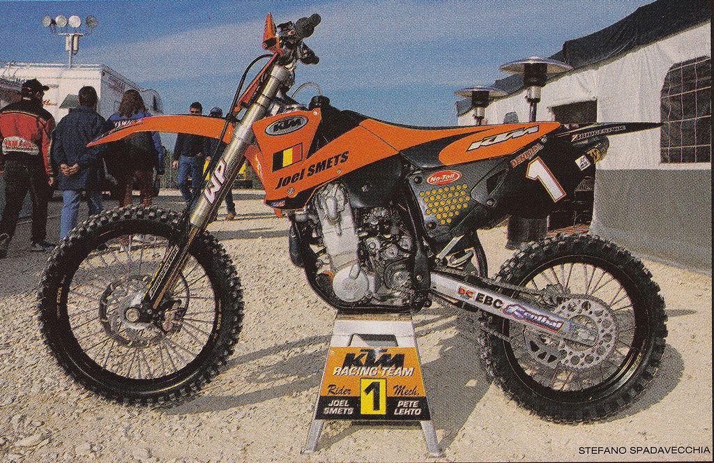 2001 Factory Ktm 520 Sx Of Joel Smets Ktm Racing Bikes Motocross Bikes