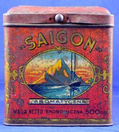 Saigon Tea Vintage Tea Tins Tea Tin Boxes Vintage Tins