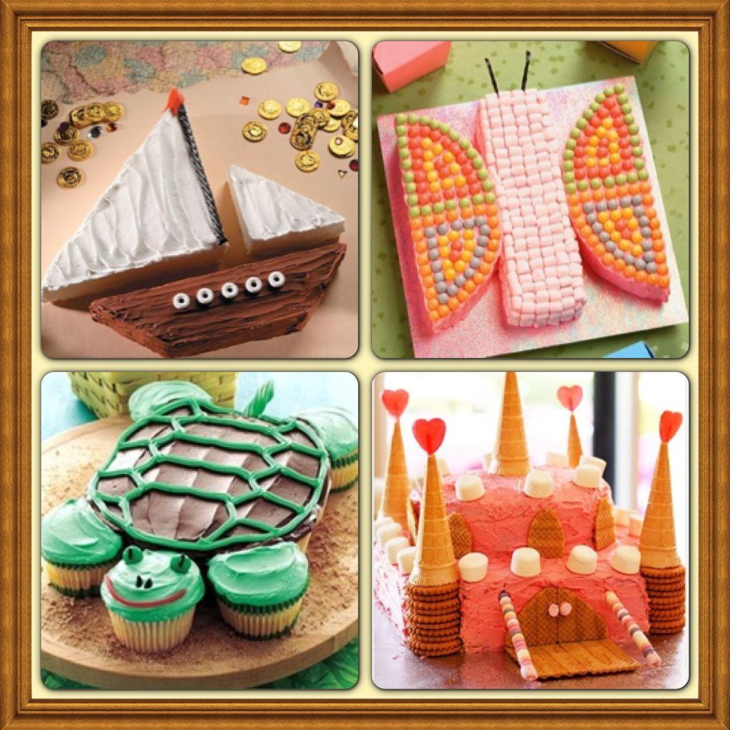 Easy Diy Kid Birthday Cake Ideas Party Ideas Pinterest