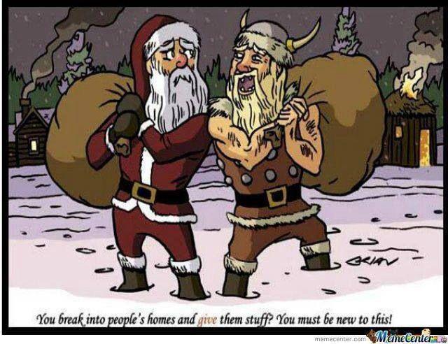 A Viking Christmas Lol Viking Meme Norse Vikings