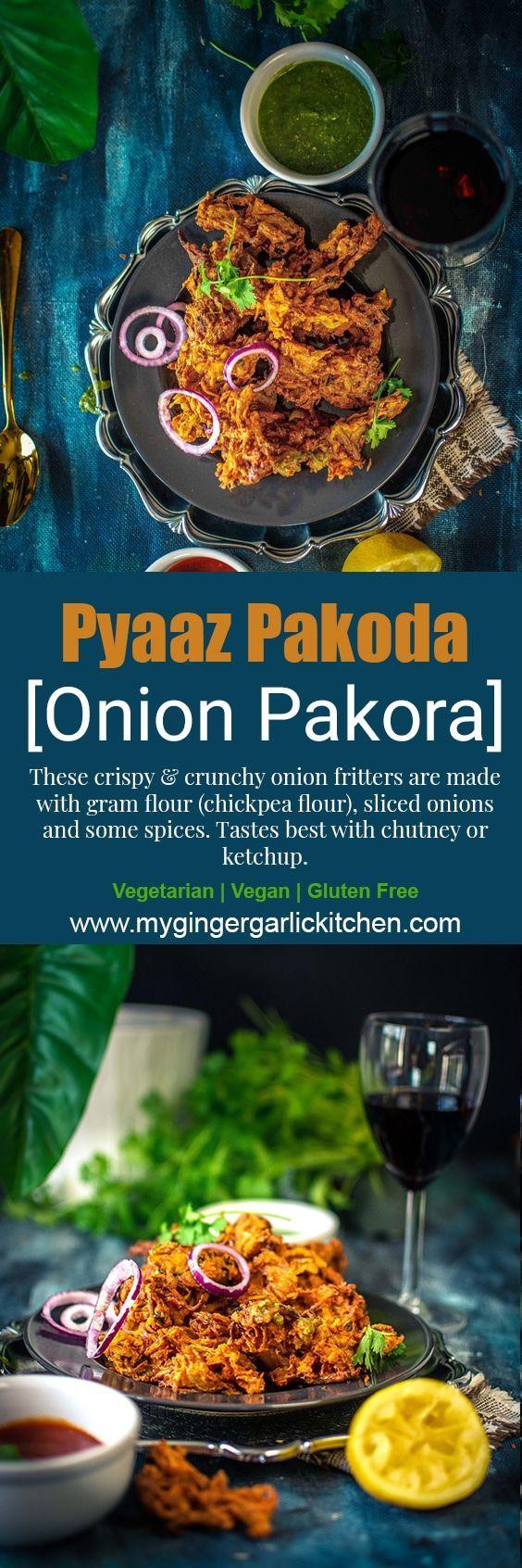 Pyaaz Pakoda - Onion Pakora - Onion Fritters   Recipe ...