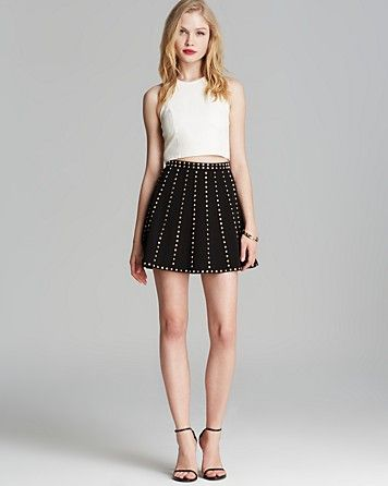 Olivaceous Top  Endless Rose Skirt