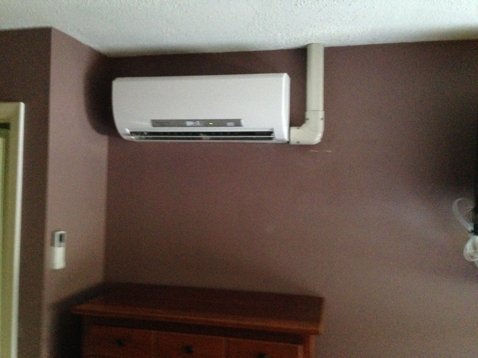 Mitsubishi Ductless Wall Mount Ductless Heat Pump And Heat Pump On Pinterest