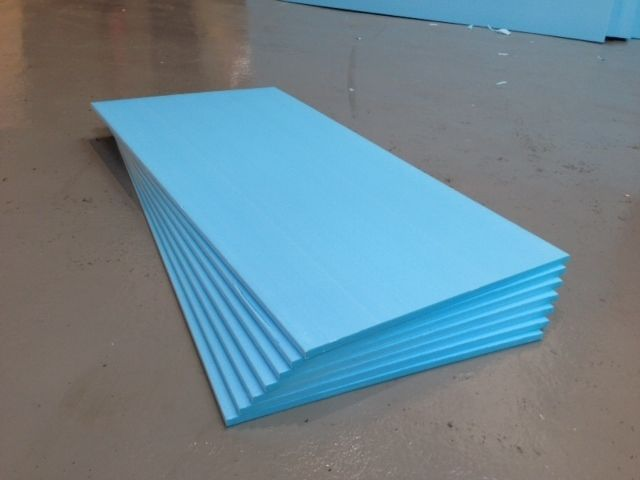Underfloor Heating Floor Insulation Boards 25mm Genuine Styrofoam Pack 4 Floor Insulation Underfloor Heating Insulation Board
