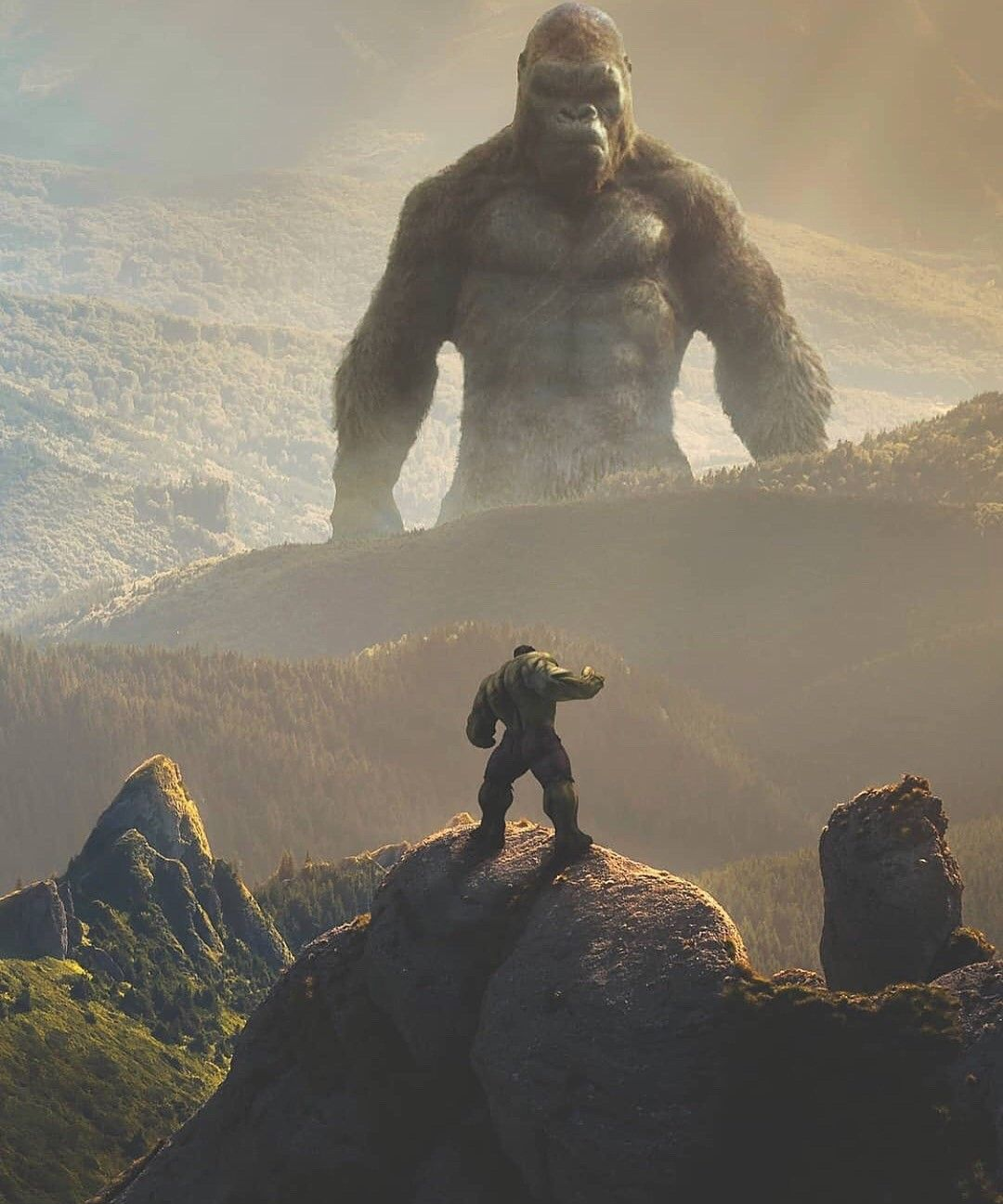 King Kong Vs Hulk Movie Hulk vs King Kong...no...