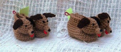 Crochet pattern 023 hound dog booties 3 sizes dog booties crochet pattern 023 hound dog booties 3 sizes dt1010fo