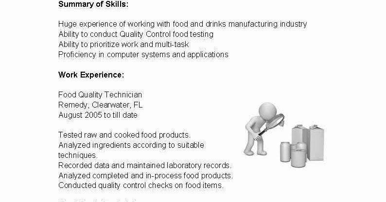 quality control job description resume best of resume