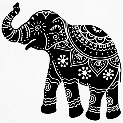 Motif Inde Elephant Recherche Google Zentangle Elephant
