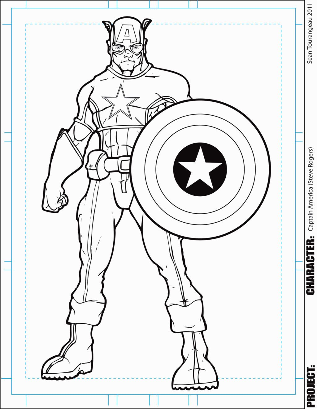 Captain America Coloring Sheets Coloring Pages Pinterest