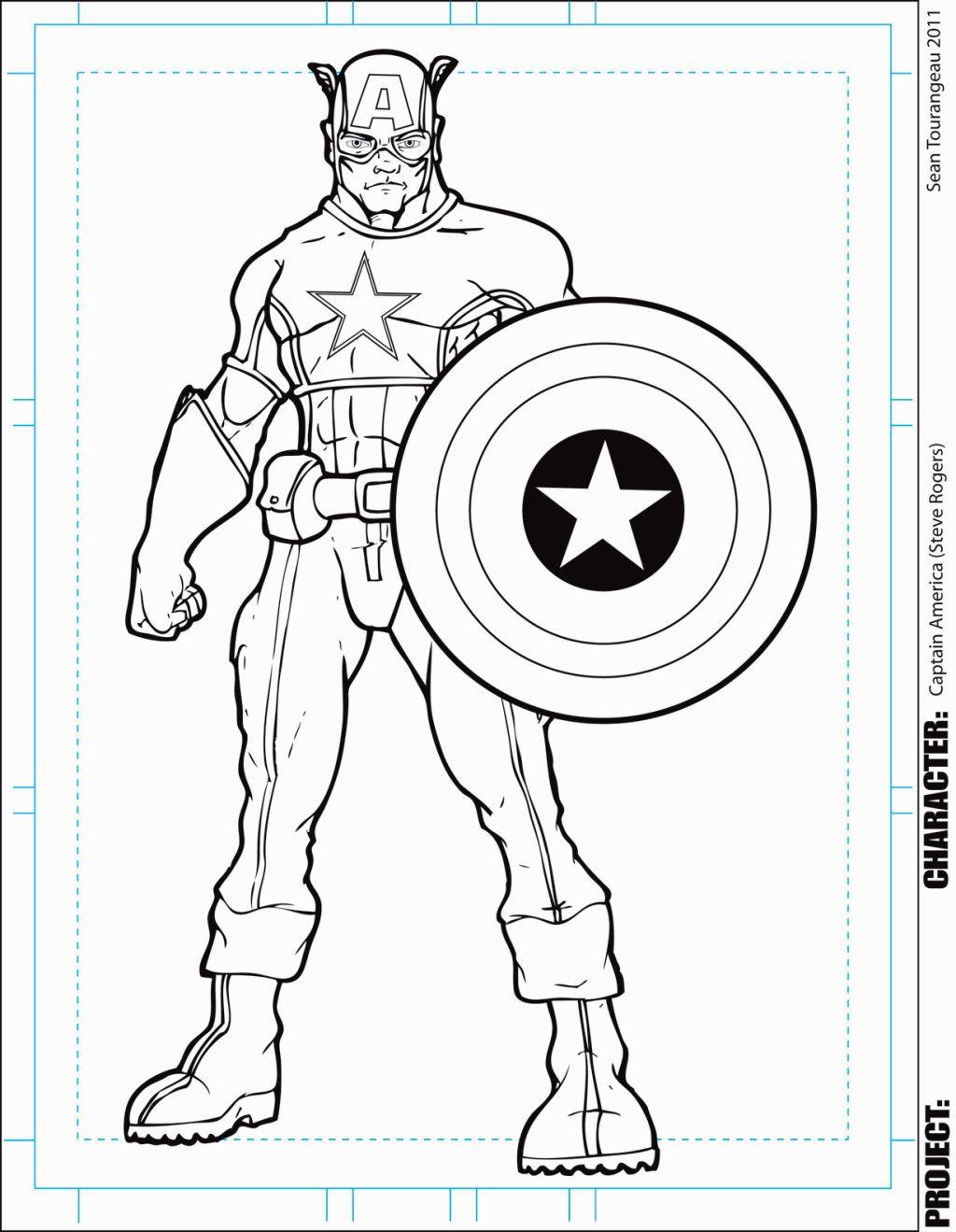 Groß Super Hero Squad Kapitän Amerika Malvorlagen Fotos - Entry ...