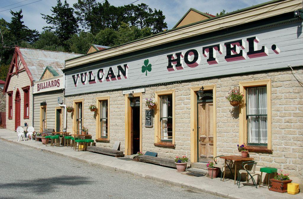 St Bathans Vulcan Hotel C 1882