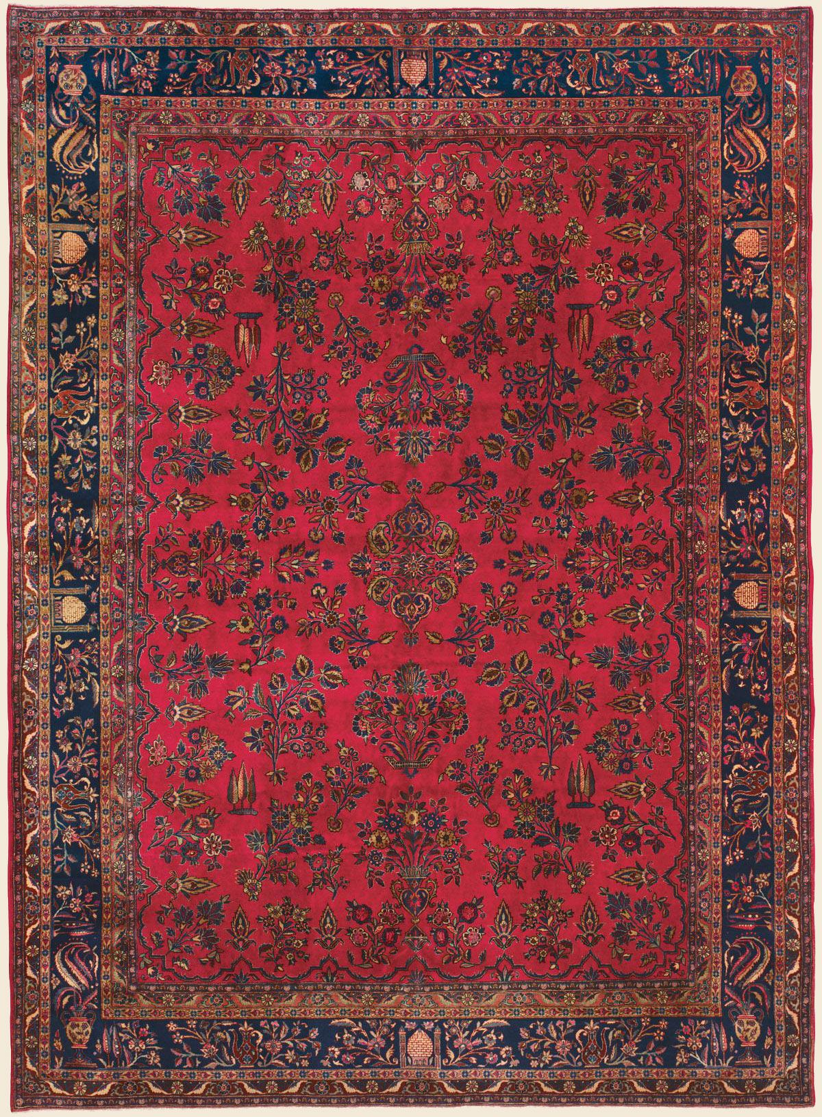 Manchester Kashan 8 8 X 12 1 Circa 1925 Price 15 000