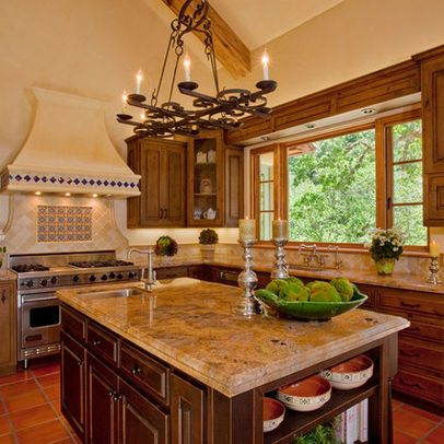 Mediterranean Kitchen Photos Design Pictures Remodel Decor And