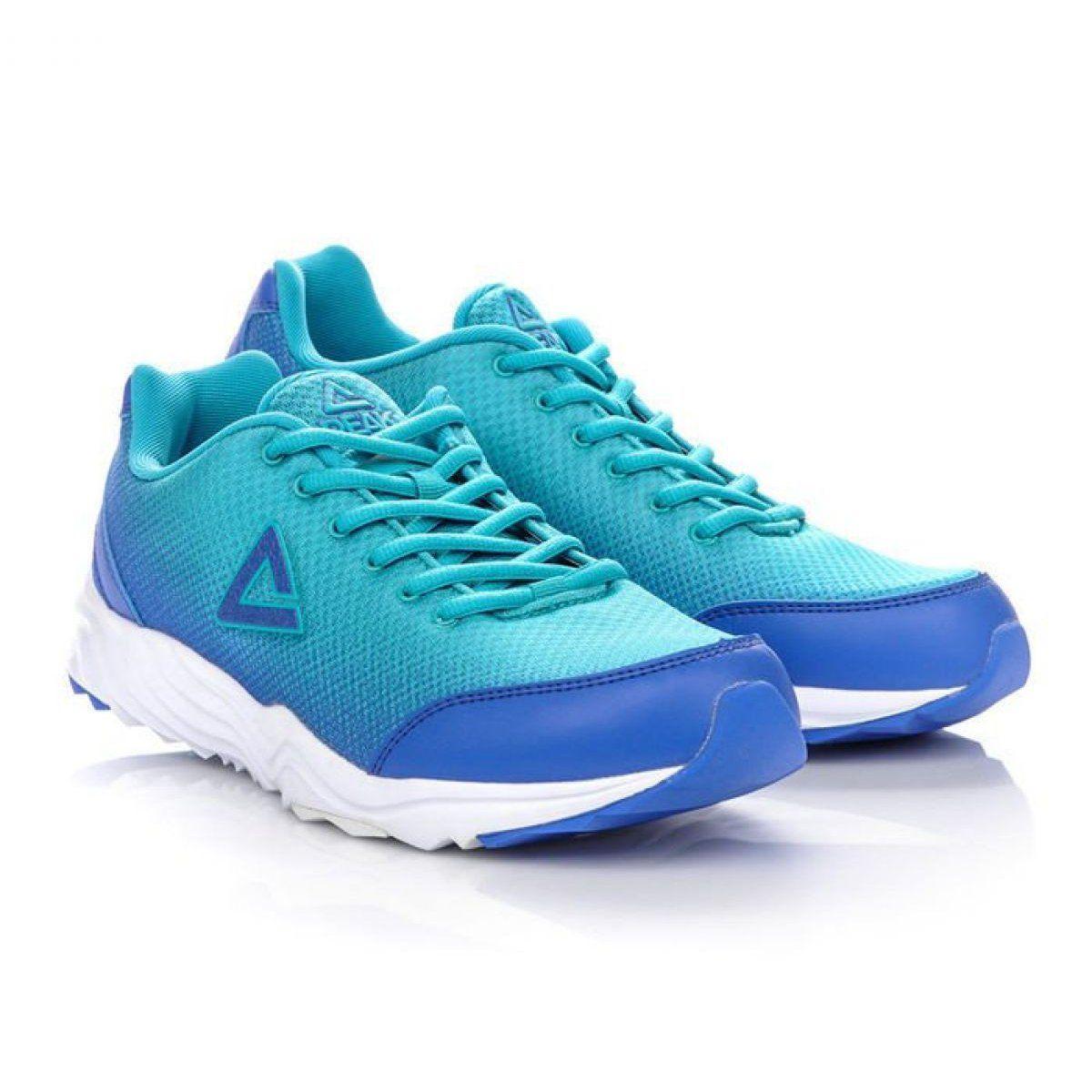 Buty Biegowe Peak E43147h M 61265 61268 Niebieskie Zielone Sneakers Shoes Brooks Sneaker