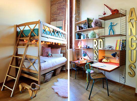 la chambre de rose et angus par sandie de fresh and vintage les enfants du design les. Black Bedroom Furniture Sets. Home Design Ideas