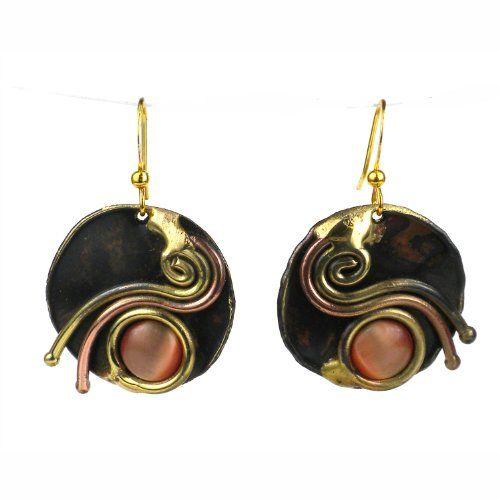 Peach Tiger Eye Swirl Earrings Global Crafts http://www.amazon.com/dp/B00FLUYRJE/ref=cm_sw_r_pi_dp_GAkeub0V4K84P