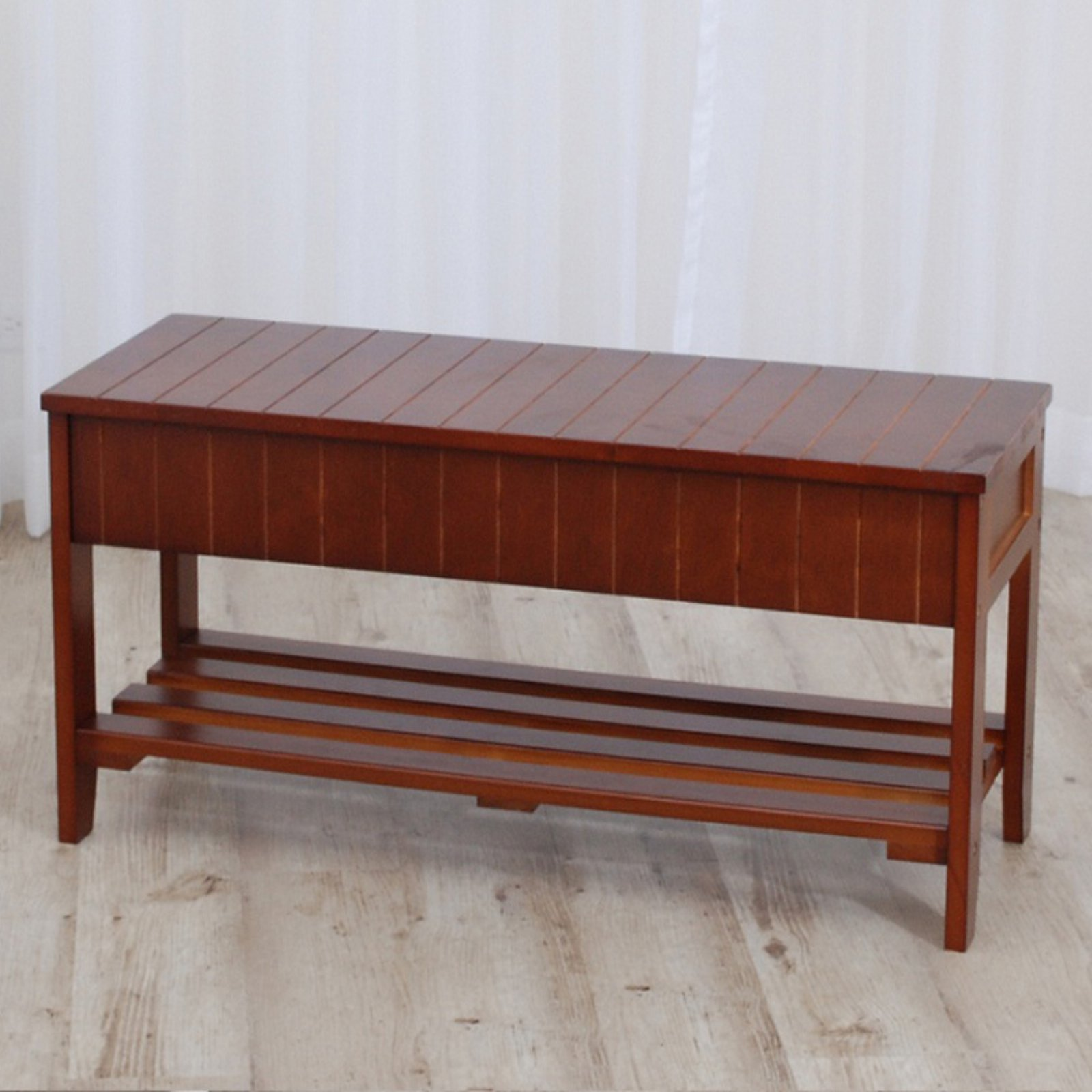 Roundhill Furniture Solid Wood Shoe Storage Bench Bench With Shoe Storage Wood Shoe Storage Storage Bench