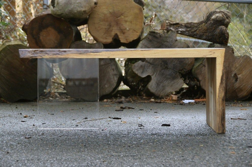 Wood Tables Embedded with Glass Rivers by Greg Klassen13