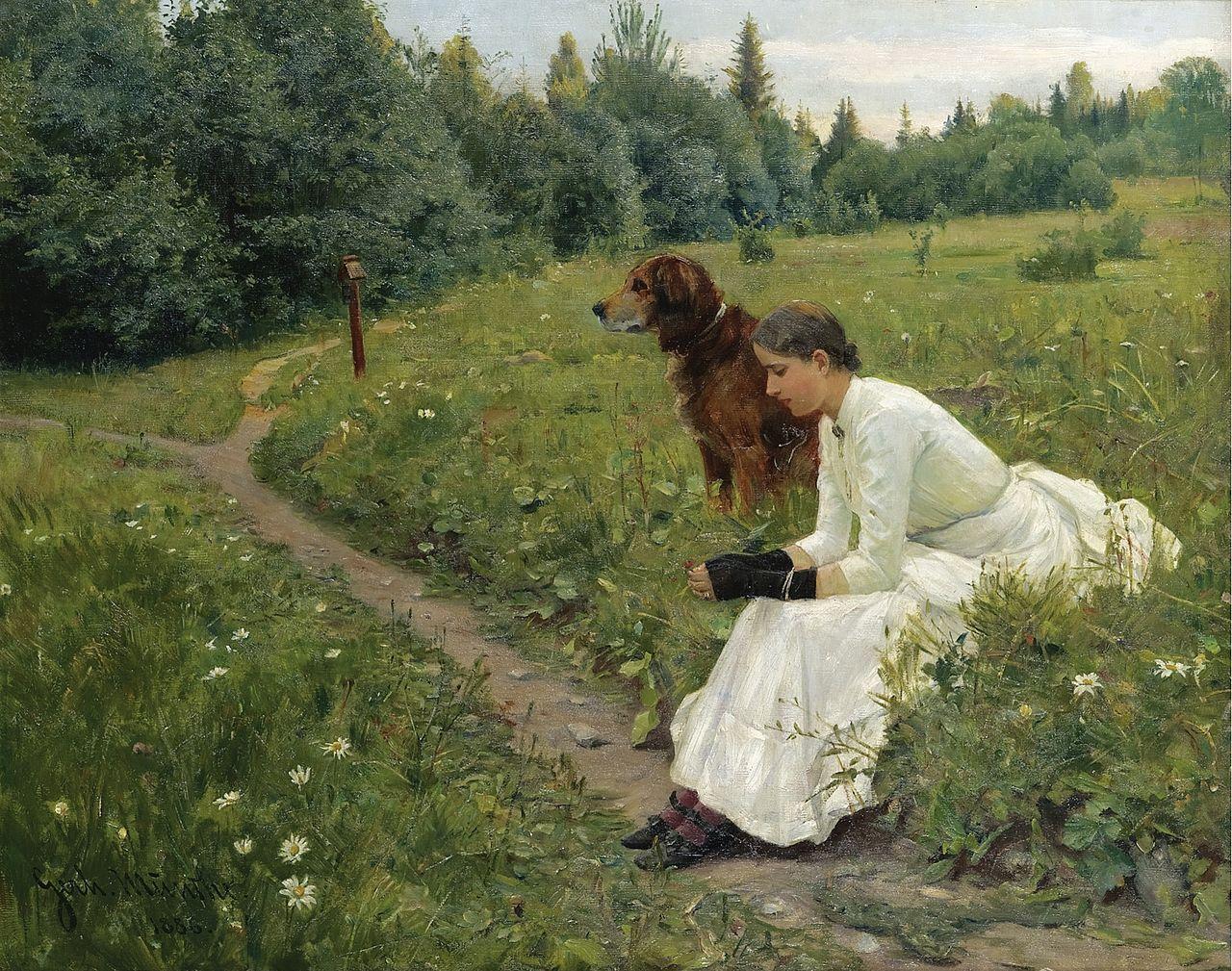 Gerhard Munthe idyll