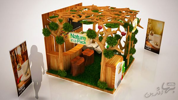 Royal Natural Herb. (Booth).. on Behance