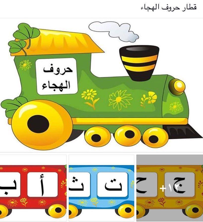 المنهج الوطني الجديد On Instagram استمتعو بتركيب قطار الحروف للصف الاول الابتدائي Learn Arabic Language Learning Arabic Arabic Language