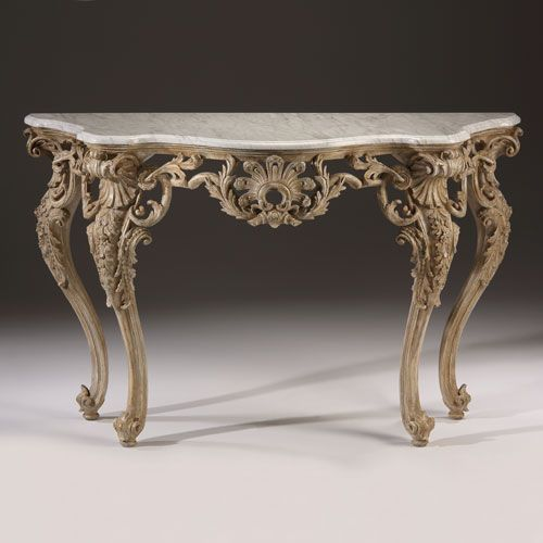 Antique Furniture Buy Cheap Solid Mahogany French Chateau Style Gilt Marble Top Carved Console Hall Table Tables