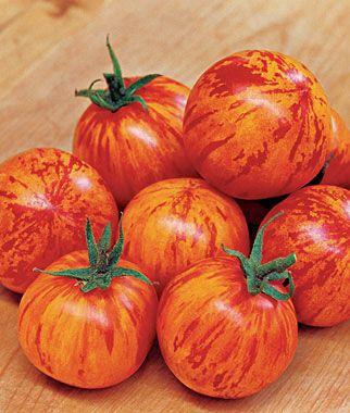 200 Pcs Rainbow Tomato Seeds Garden Organic Fruit Vegetable Plant Decor