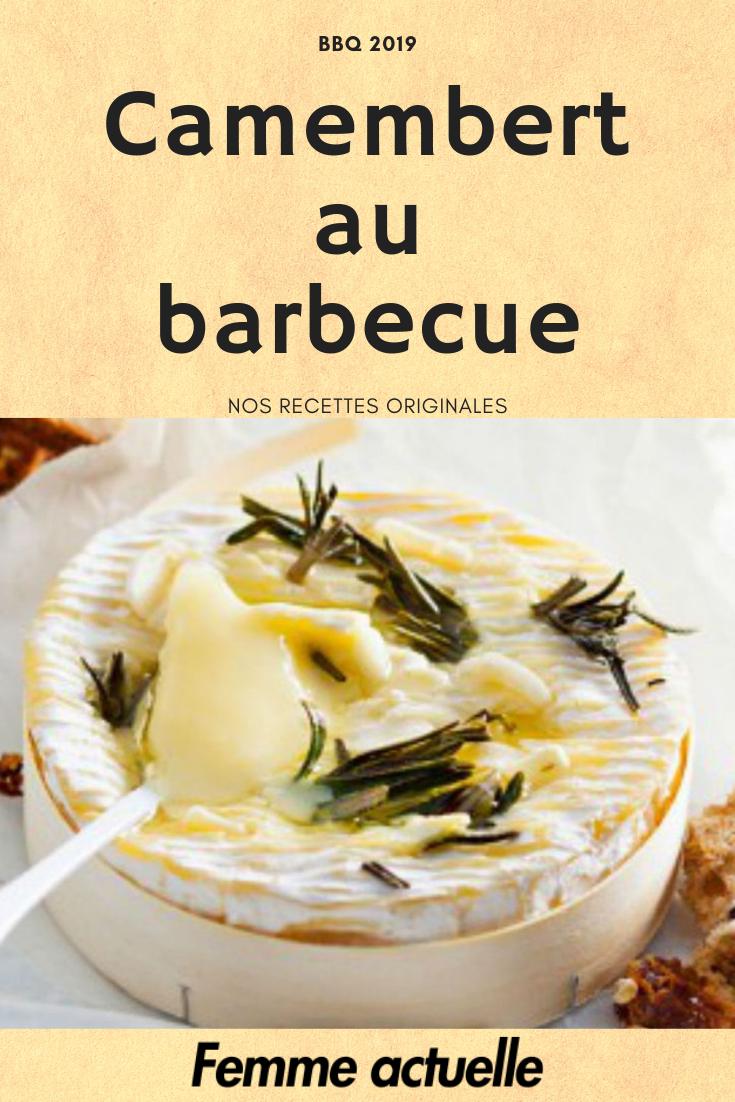 Camembert au barbecue : découvrez les recettes de cuisine de Femme Actuelle Le MAG