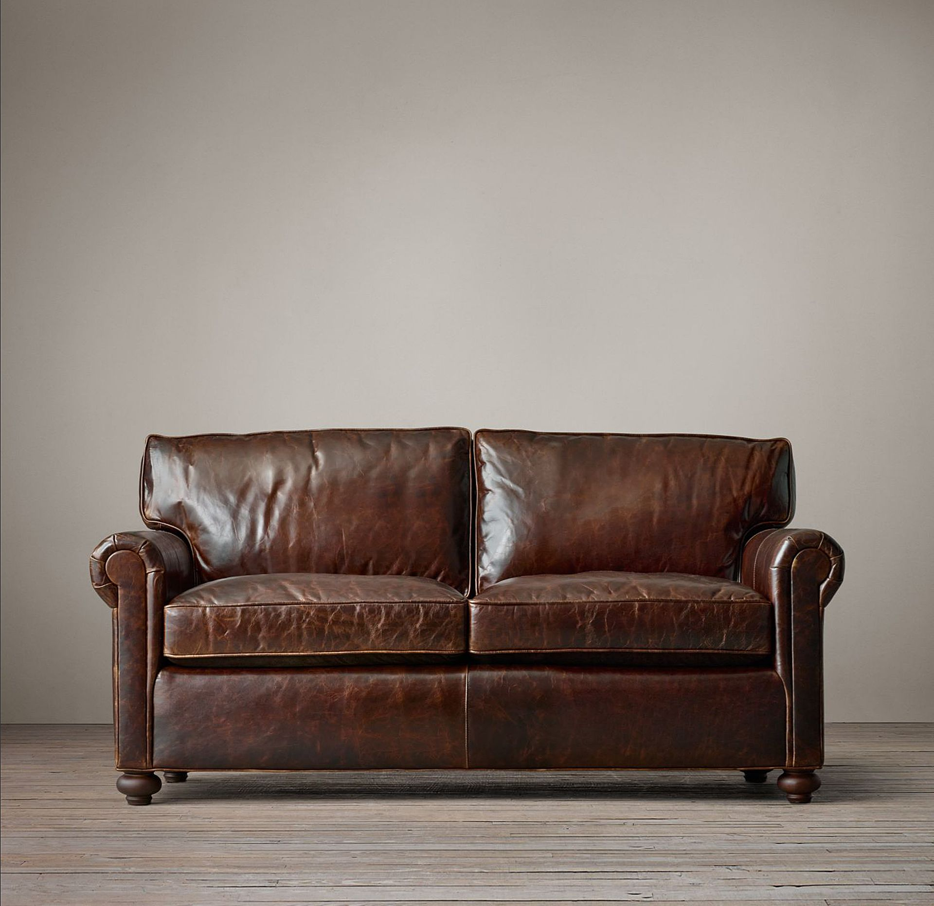 Beautiful Brompton Cocoa Sofa From Restoration Hardware Leather Clic