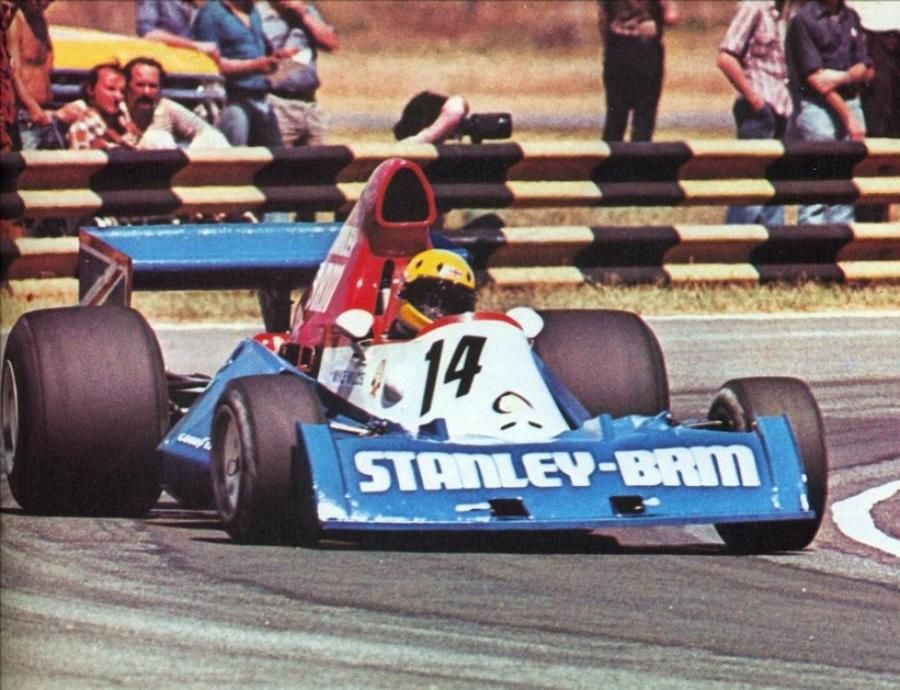 Mike Wilds - Sao Paolo - 1975 - Stanley BRM 201