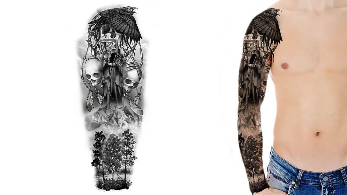 Custom tattoo design tattoo sleeve designs custom