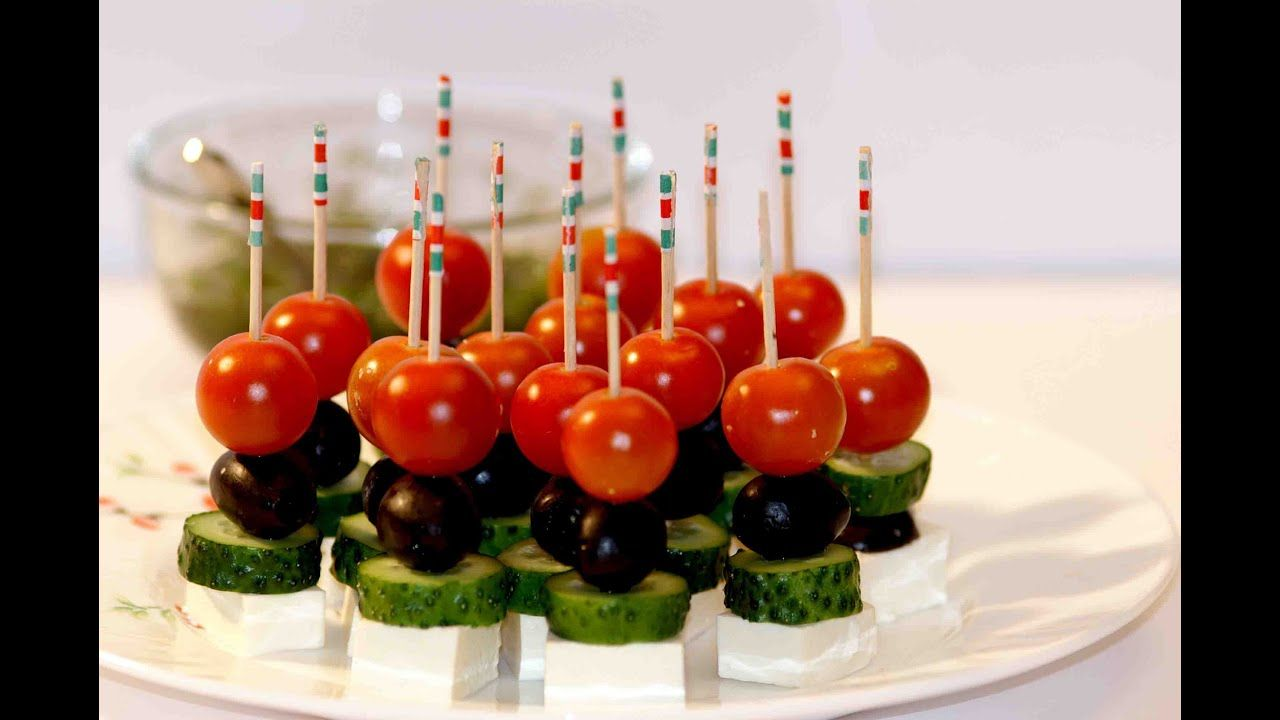 Easy Canapes Canapes Ideas Greek Canape Food Decoration Easy Canapes Food Decoration Party Food Easy Appetizers