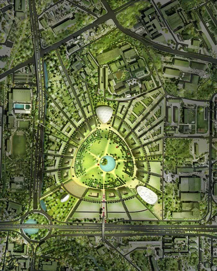 Sofia multifunctional complex sofia masterplan sofia for Master plan landscape architecture