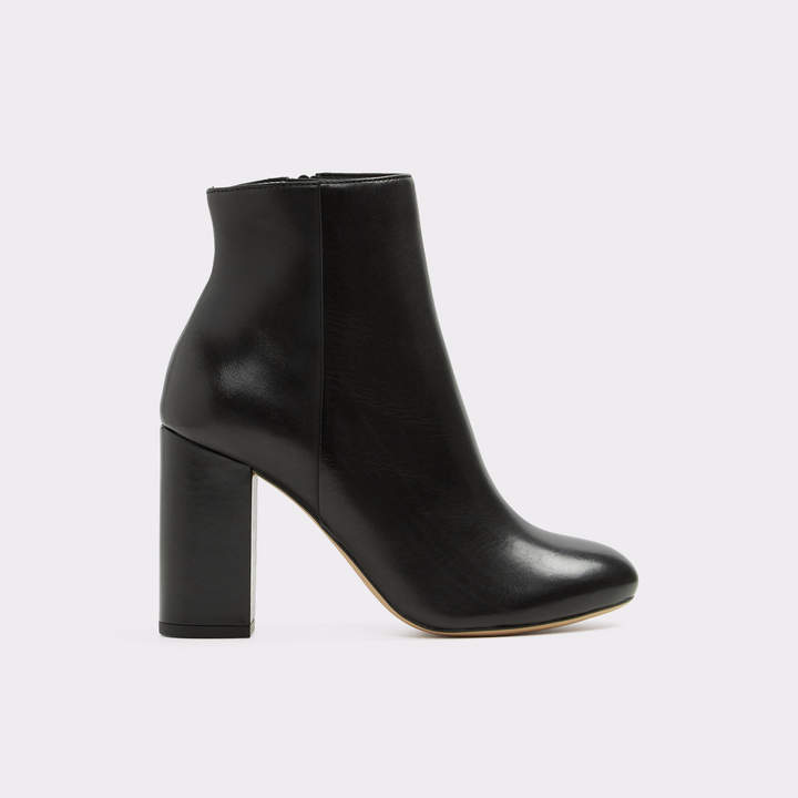 ALDO Tealith High Heeled Ankle Boots Women Black Shoes