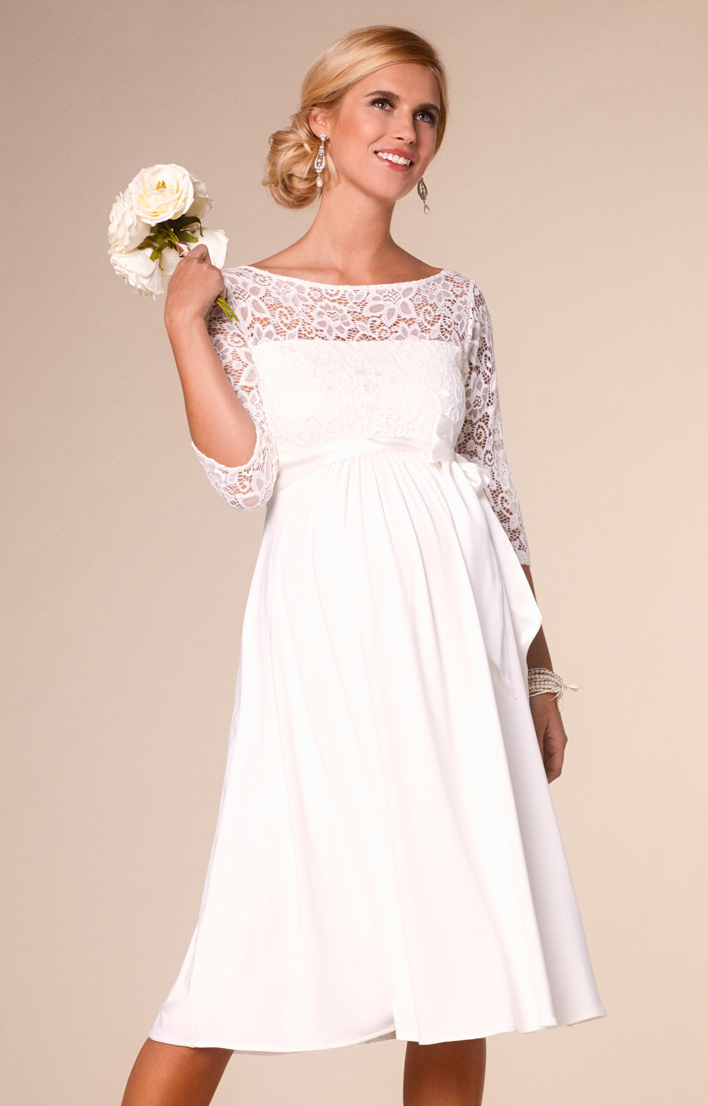 Kleid Lucia | Tiffany rose, Ivory and Wedding dress