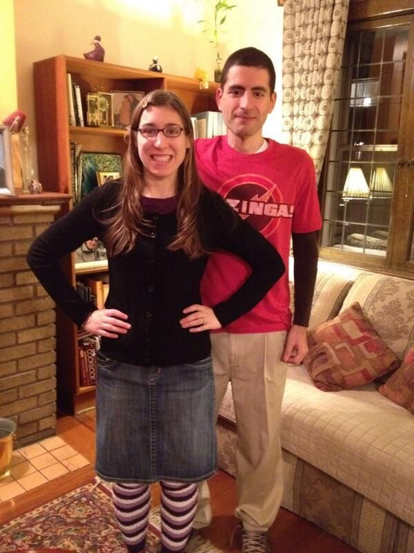 Halloween costumes - Sheldon and Amy Farrah Fowler  sc 1 st  Pinterest : amy halloween costume  - Germanpascual.Com