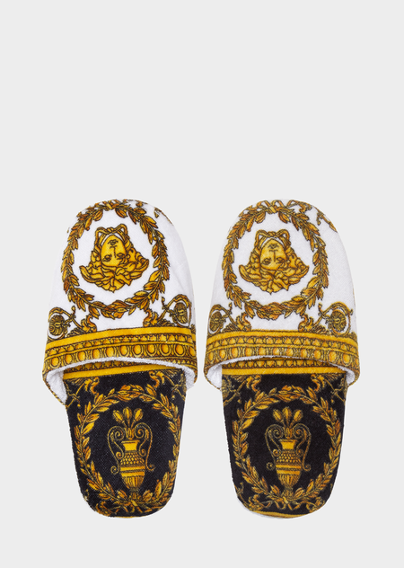 d7f5141fbc I ♡ Baroque Bath Slippers - print Slippers | Versace in 2019 ...