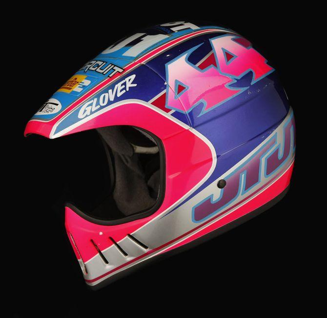 Jt Als2 Glover Helmet Vintage Helmet Motocross Helmets