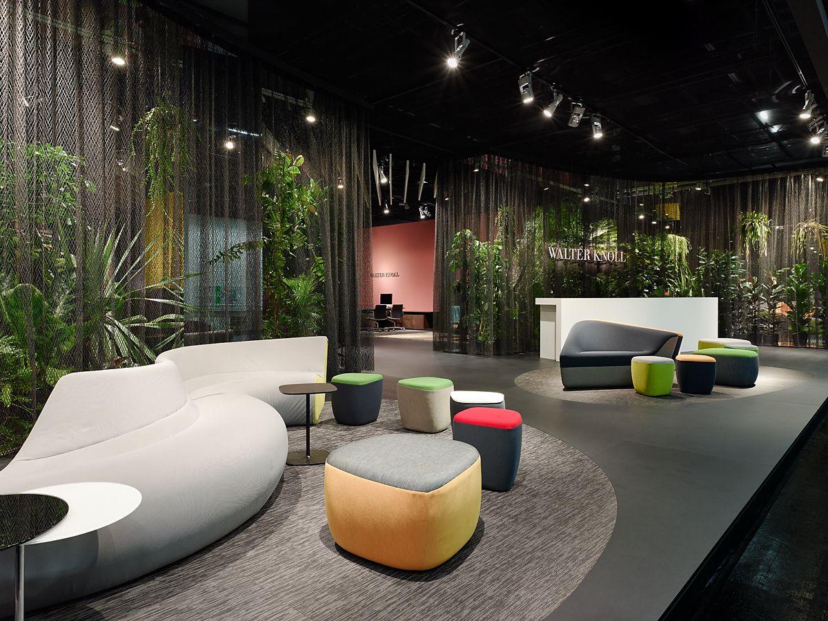 Walter Knoll Exhibition Stand Orgatec 2014 Lounge Design Lobby Design Design
