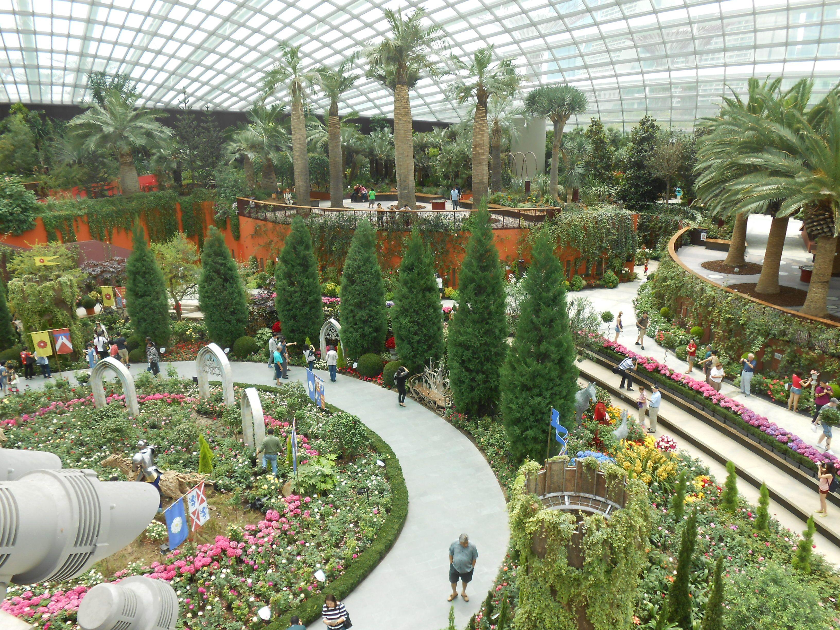 Jardins contruidos em Cingapura!