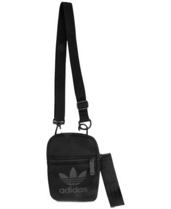 New Adidas Originals Adicolor Mini Shoulder Bag Blue Grey Mens Womens