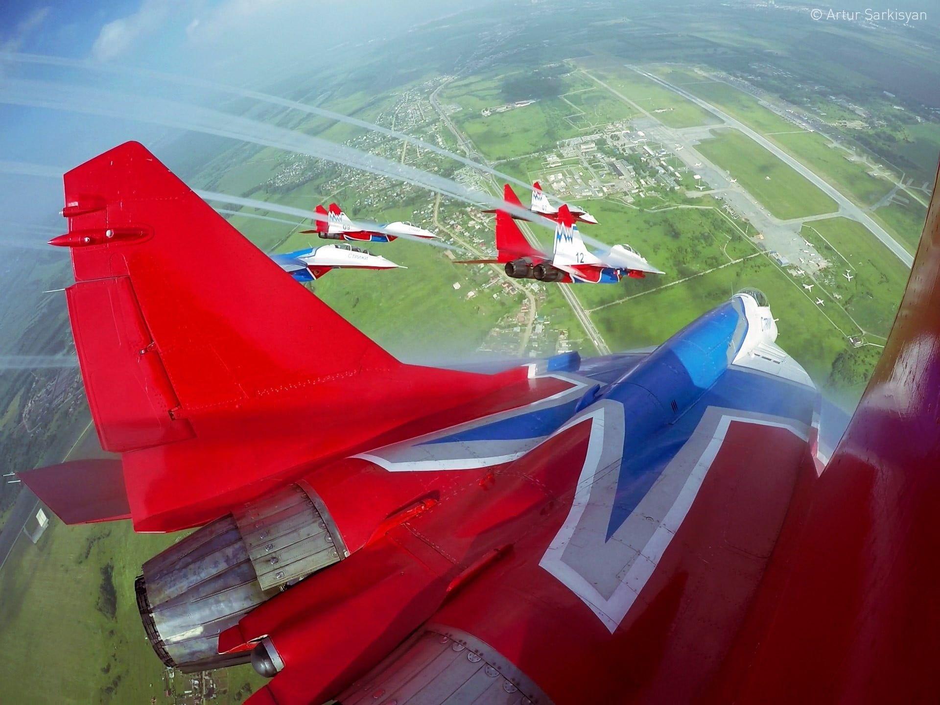 Mig 29 Mikoan Mig 29 Aerobatic Team 1080p Wallpaper Hdwallpaper Desktop Wallpaper Hd Wallpaper Imac Desktop 29 full hd wallpaper hd