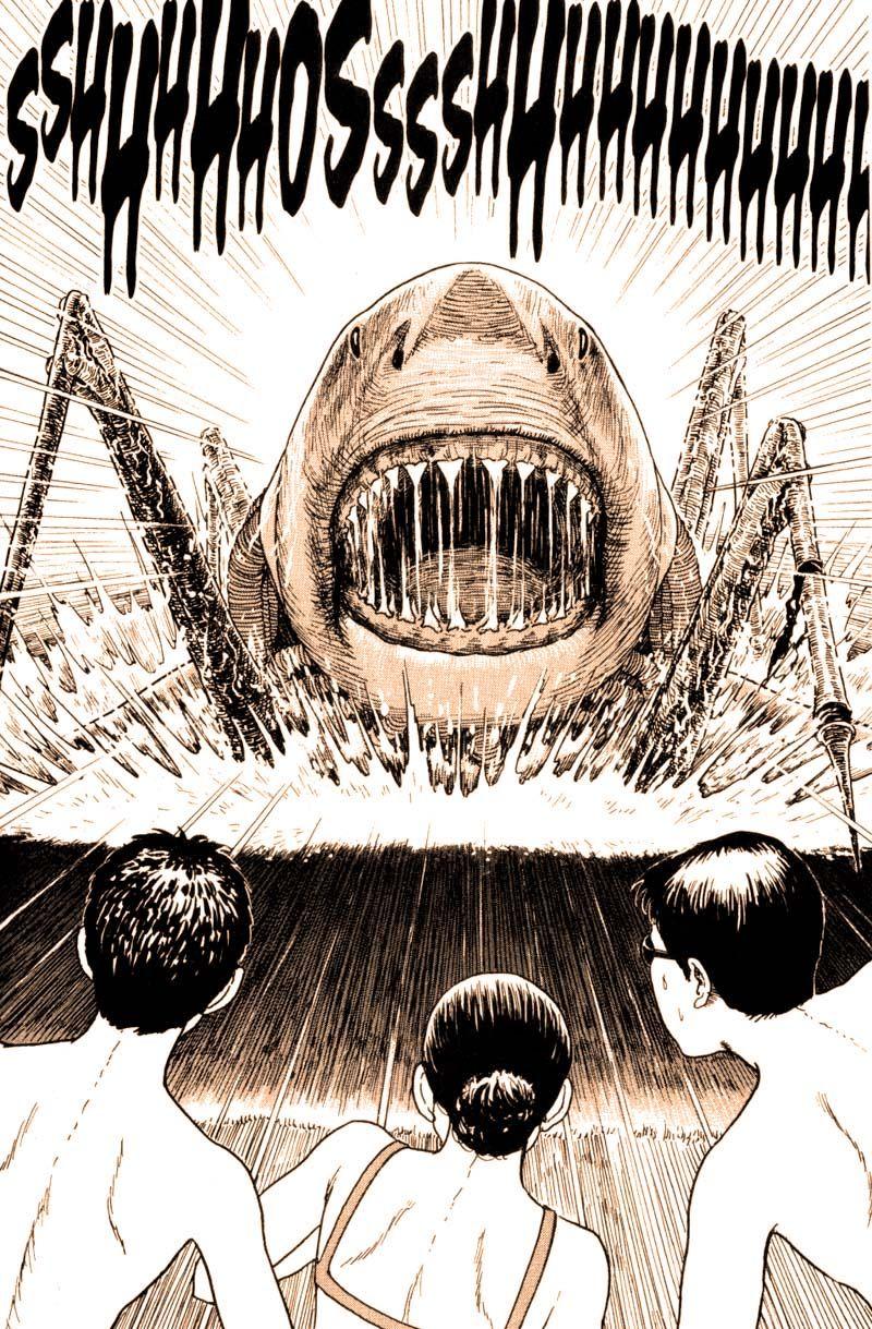 From gyo by junji ito junji ito japanese horror
