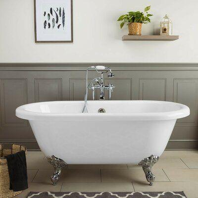 Chevington Windsor 60 X 30 Clawfoot Soaking Bathtub Soaking