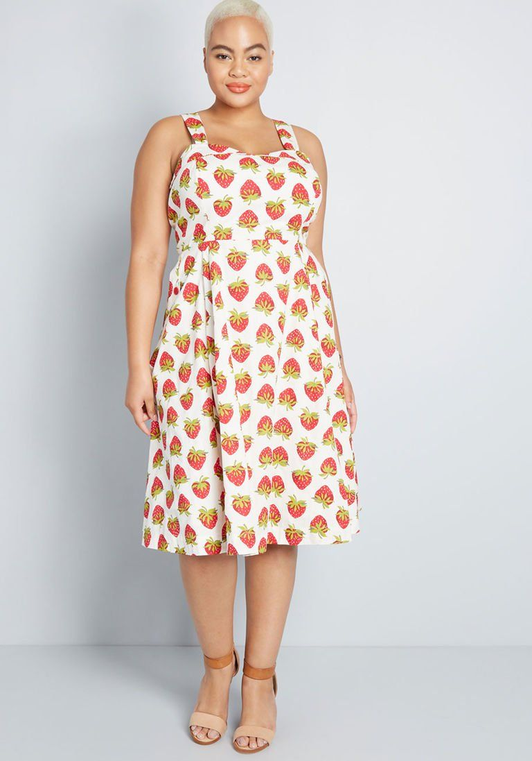 4f4010028164 ModCloth x Emily and Fin Darling on the Double A-Line Dress in XL ...
