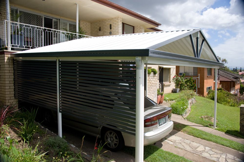 A Privacy Screen Is A Great Idea To Give Your Carport A Sense Of Enclosure And Privacy Privacyscreening Carport Prices Outdoor Areas Christmas Village Houses