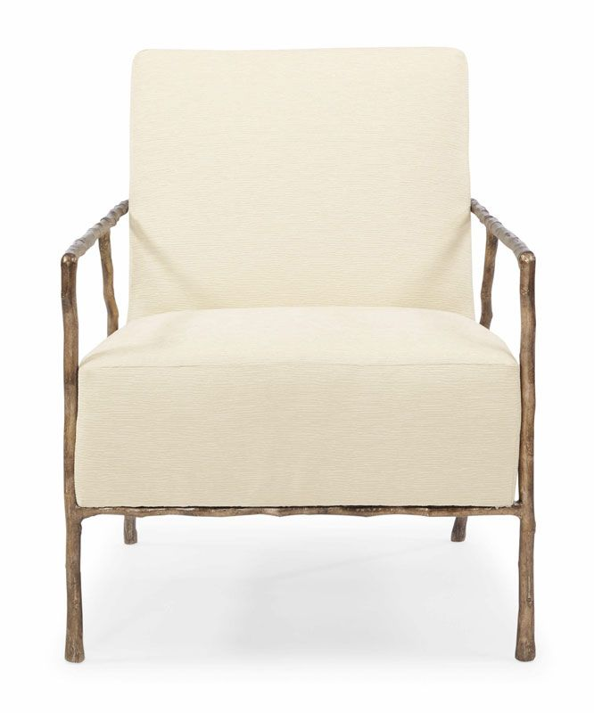 Front View Of Tremont Chair By Bernhardt Sofa Chair Stool