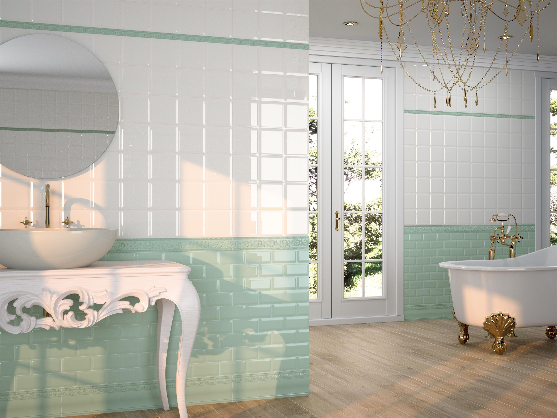 Caprichosa Verde Pastel Designer Ceramic Tiles From Carmen All