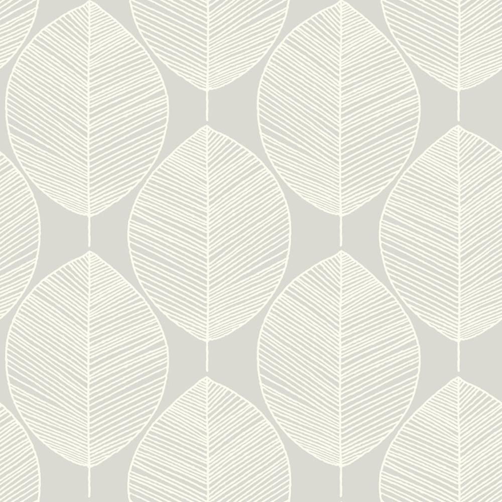 Papier peint retro arthouse opera motif a feuilles d 039 - Papier peint motif arbres ...